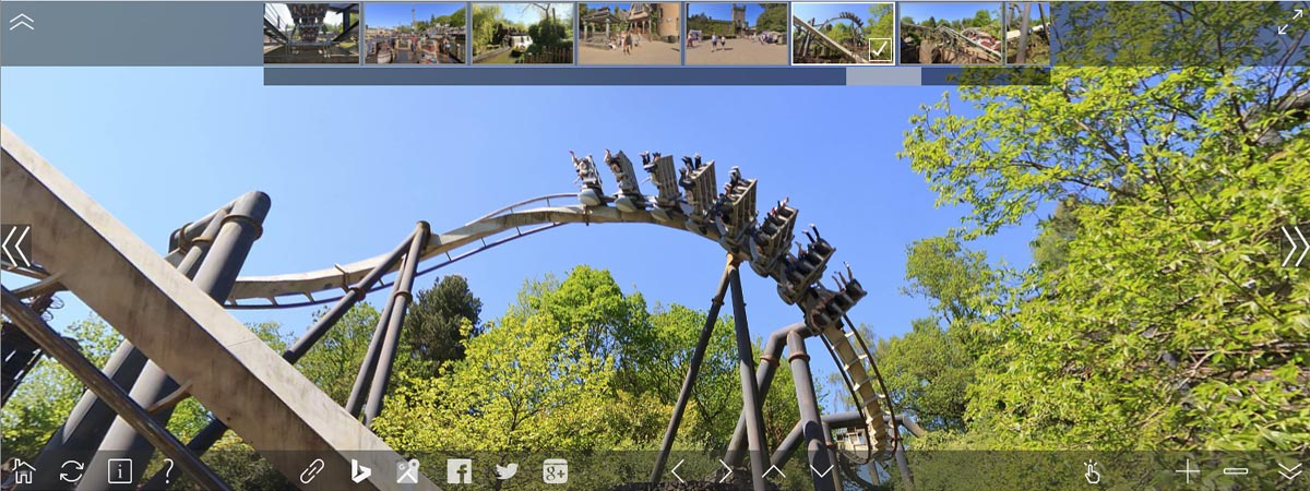 Alton Towers Virtual Tour